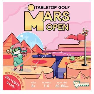 Mars Open Tabletop Golf (Boxed Dexterity Game)