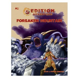 5th Edition Adventures: A8 - The Forsaken Mountain (5th Ed. D&D Adv.)