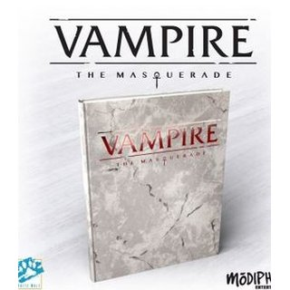 Vampire: The Masquerade 5th Edition Deluxe Edition Core Rulebook - EN
