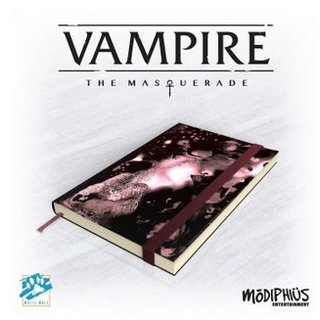 Vampire: The Masquerade 5th Edition Notebook - EN