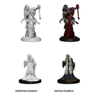 D&D Nolzurs Marvelous Miniatures: Green Hag & Night Hag