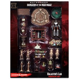D&D Icons of the Realms: Waterdeep: Dungeon of the Mad Mage - Halasters Lab Premium Set