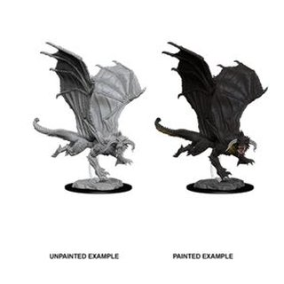 D&D Nolzurs Marvelous Miniatures - Young Black Dragon