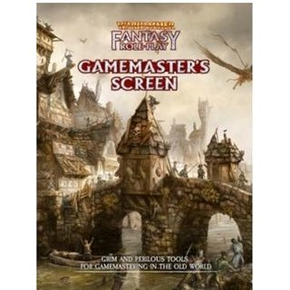 Warhammer Fantasy Roleplay Gamemasters Screen - EN