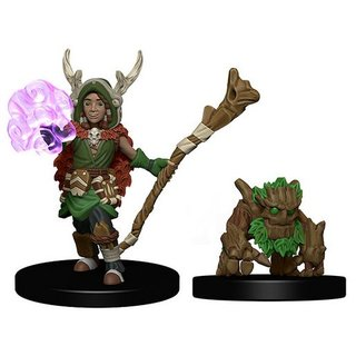 WizKids Wardlings Painted Miniatures: Boy Druid & Tree Creature