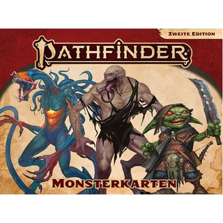 Pathfinder 2. Edition - Monsterkarten