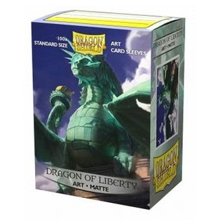 Dragon Shield Matte Art Sleeves - Dragon of Liberty (100 Sleeves)