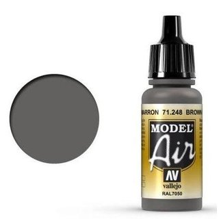 Vallejo Model Air: 71248 Brown Grey (RAL7050) 17 ml