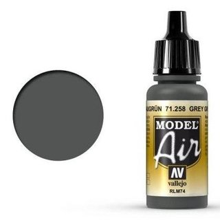 Vallejo Model Air: 71258 Graugrün (RLM74) 17 ml