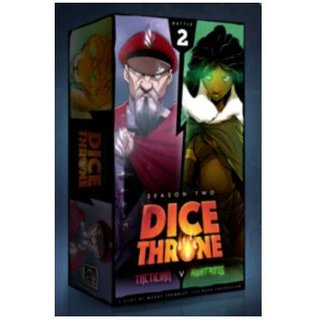 Dice Throne: Season Two - Tactitian VS Huntress - EN