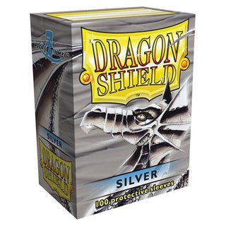 Dragon Shield Silver Sleeves (100)