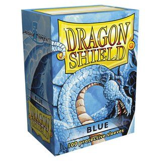 Dragon Shield Blue Sleeves (100)