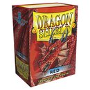 Dragon Shield Red Sleeves (100)