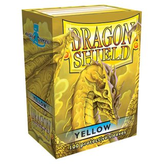 Dragon Shield Yellow Sleeves (100)