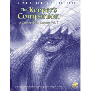 Keepers Companion Volume 1