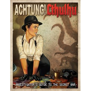 Achtung! Cthulhu - Investigators Guide to the Secret War