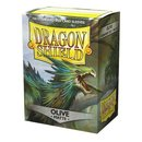 Dragon Shield Matte -  Olive (100 Sleeves)